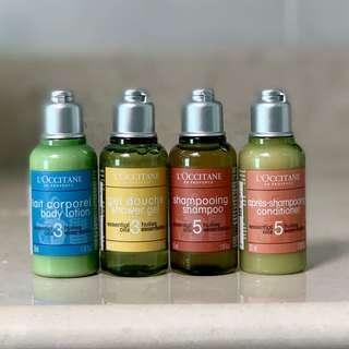 L'occitane Essential Oils Travel Set
