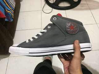 Converse midcut greyish blue/red REPRICED ✔✔✔