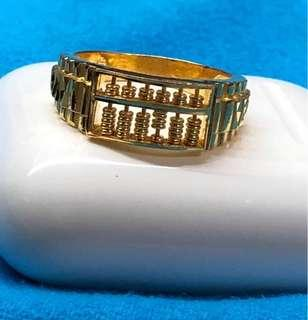 Abacus Design - Lovely GOLD Ring ❤️❤️❤️💛💛💛💚💚💚💙💙💙💙