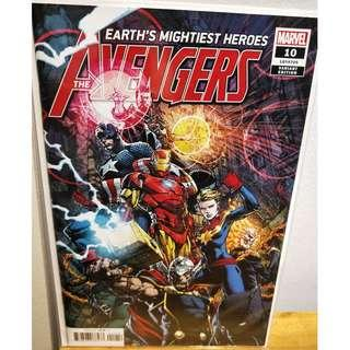 AVENGERS #10 David Finch Variant Marvel Comic Jason Aaron Ed McGuinness