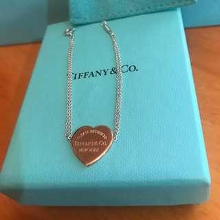 Return to Tiffany Heart bracelet rose gold 心吊飾手鍊
