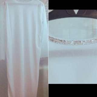 Costume for kids. Angel or Priest