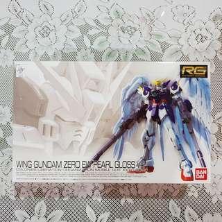 RG Wing Gundam Zero Pearl Gloss ver