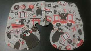全新 熊本熊 Kumamon 旅行 飛機枕 吹氣頸枕