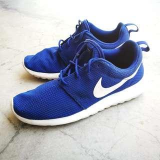 Preloved Nike Roshe blue (Original)