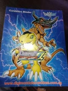 Digimon Card Binder Alot of Rares and Commons