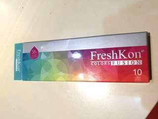 FreshKon Brown Eye Lens Power -1.25