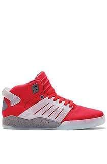 Supra Skytop III Sneakers (Red) Preloved