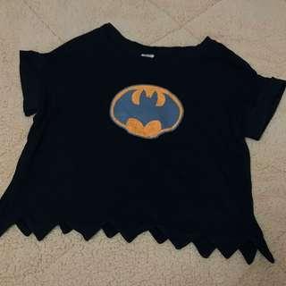 🚚 二手📌 蝙蝠俠短版T恤