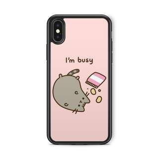 I'm Busy Pusheen Case