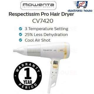 Rowenta Respectis Pro Ionic Ceramic Hairdryer
