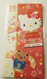 Sanrio和式Hello Kitty利是封(每套)