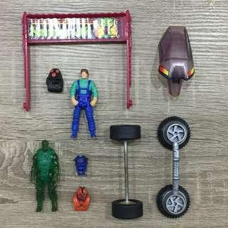 Kenner MASK Toys (Loose Parts)