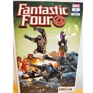 Fantastic Four #1 first printing Ramos Variant 1st Griever Cover Appearance