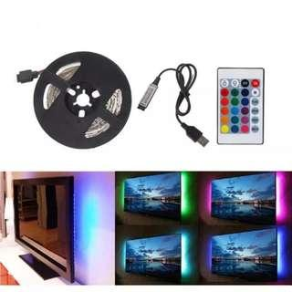 USB LED Strip L10 RGB (50cm,100cm)