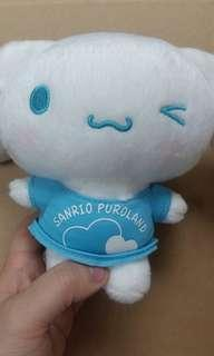Puroland Cinnamoroll 玉桂狗 肉桂狗 大耳狗 限定 公仔 2014年