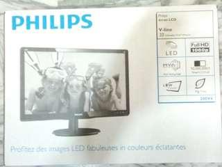 🚚 PHILIPS 200V4 LCD 電腦 螢幕