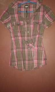 Paddocks checkered blouse Small