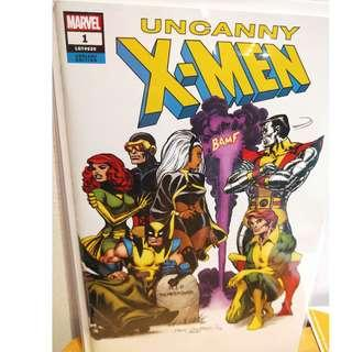 Uncanny X-Men #1 Dave Cockrum Hidden Gem Wraparound Color Variant *NM* 2018