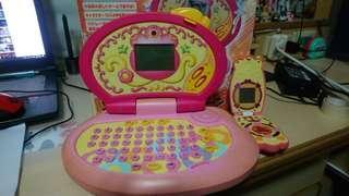 🚚 小魔女doremi 皇家筆電+手機不拆售 遊戲功能聲光正常
