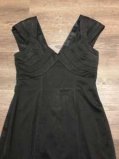 HerVelvetVase black corporate dress