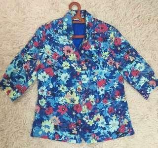 Floral Blouse / Blazer