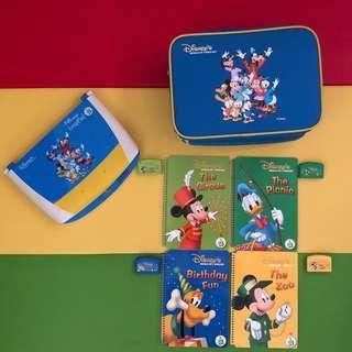 迪士尼美語世界 World family LeapPad 點讀遊戲學習套裝
