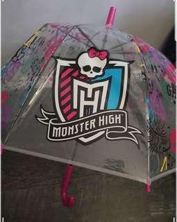 FREE-Monsters high umbrella