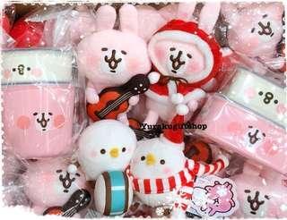 門市現貨 Kanahei 兔兔 P助 聖誕公仔 日本直送 粉紅兔兔