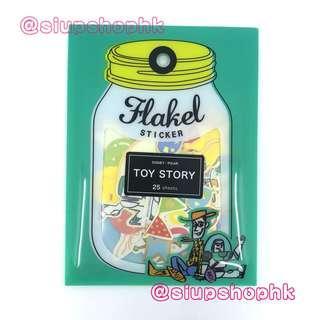 ⭕️ 現貨供應中 ⭕️ 日本直送 Disney Pixar 【Toy Story】 Flakel Sticker Set 💖25張💖