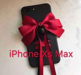 🎀Apple iPhone XS Max Ribbon soft case🎀
