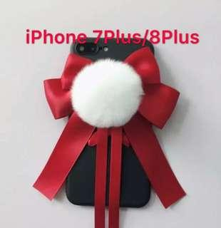 🎀Apple iPhone 7Plus 8plus Kawaii Ribbon case🎀