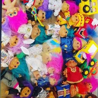 星期日 玩具跳蚤 trolls 市集  troll 12月2日