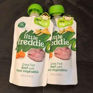 Little Freddie baby organic food beef with root vegetables