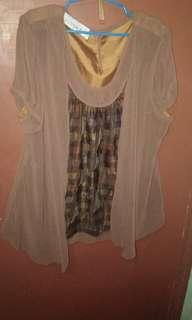 Golden Rose PlusSize 20 Blouse