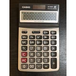 Casio AX-120ST calculator 12 digits卡西歐 AX-120ST計算機12位