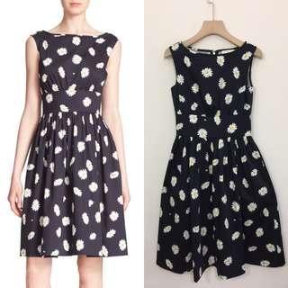 Kate spade lyric daisy print dress size 0