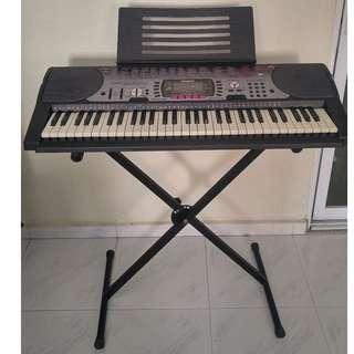 Casio LK-60 Electronic Keyboard with Stand