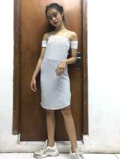 Hnm white dress