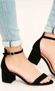 PLUS SIZE Block Heeled Sandals