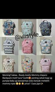 Anello  Mommy Diapers Backpack