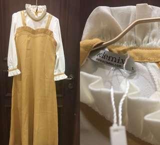 yellow dress by eclemix