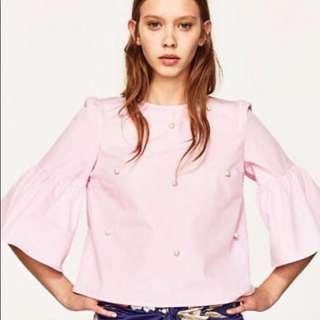 Zara Pearl top xs