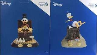 渣打 限量版Disney 迪士尼史高治唐老鴨錢甖