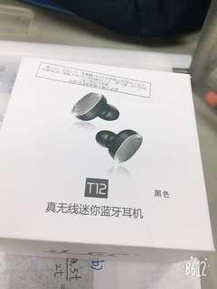 T12藍芽耳機(全新)