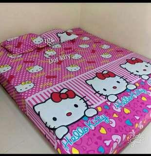 Sprei Homemade Hello Kitty