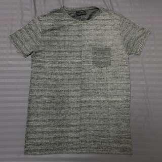 ✨ Pull & Bear Grey Knitted T Shirt