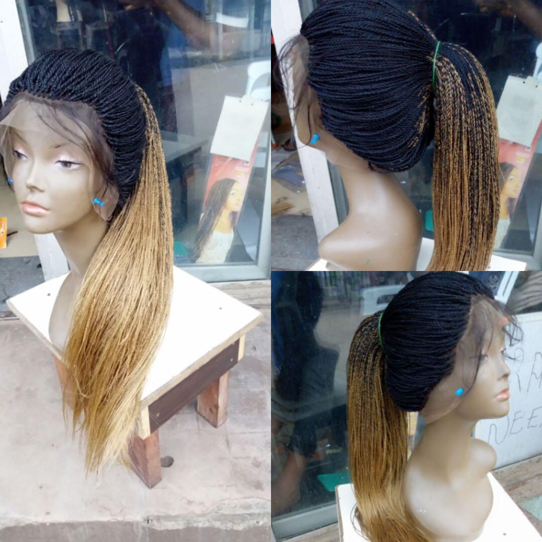 360 frontal lace wig