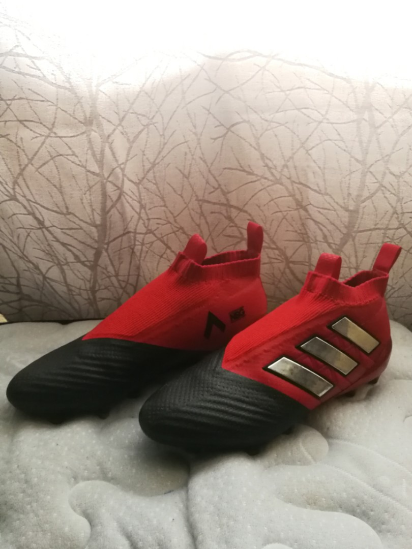 brand new 051db 74bc0 Adidas Ace 17+ purecontrol boost laceless, Sports, Sports ...