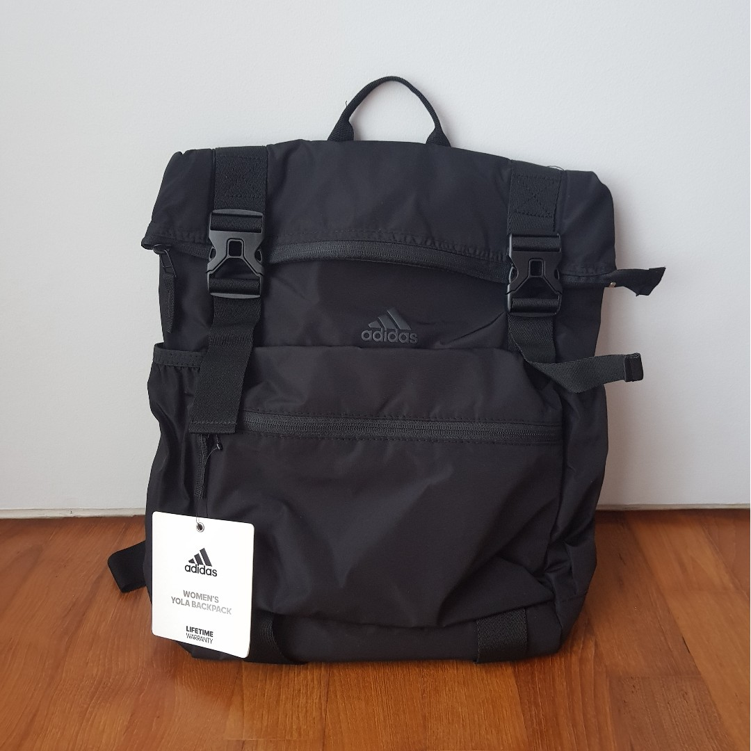 ADIDAS Black Yola Training Backpack (Purchased from USA!!) 78a01ad0d8277